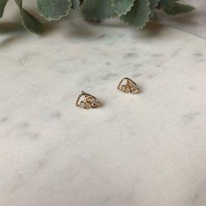 Jewelry - Stud Elephant Earrings